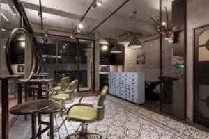 モダンレトロの美容室
